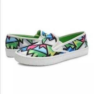 NEW Loudmouth Mens Crystal Sonny Slip-On Sneaker